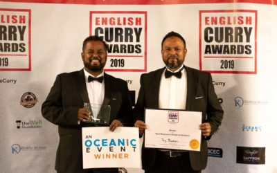Taj Wins for Best Restaurant Design and Ambience at the Curry Awards 2019