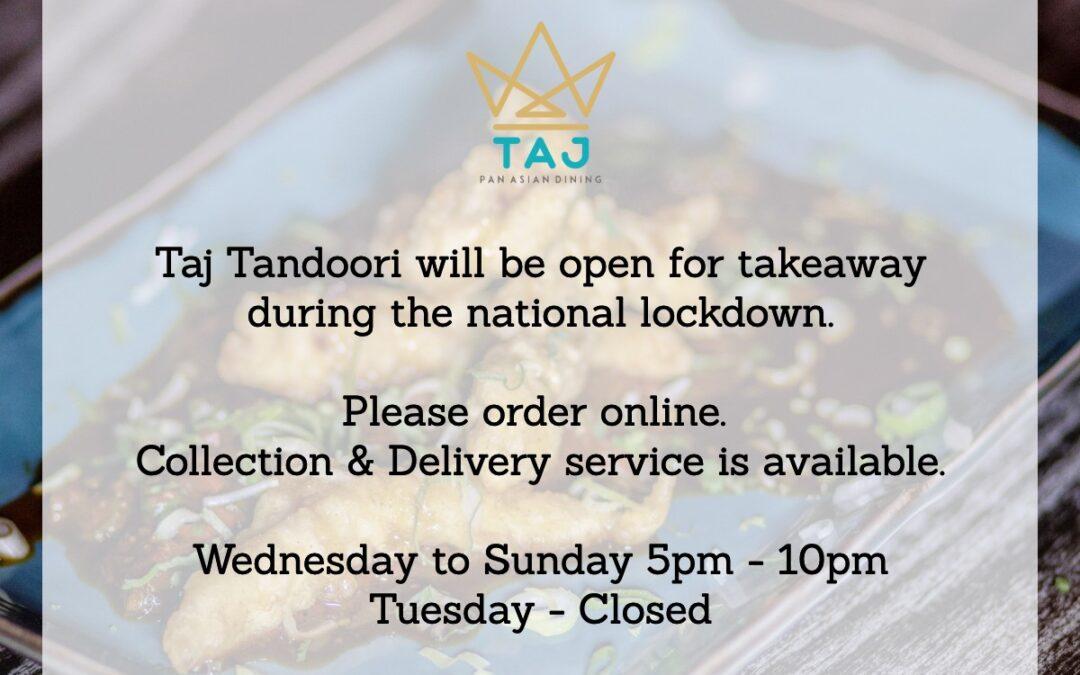 Taj Tandoori helps fill foodbanks in Cambridge